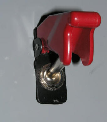 Nitrox Safety Valve Toggle Switch